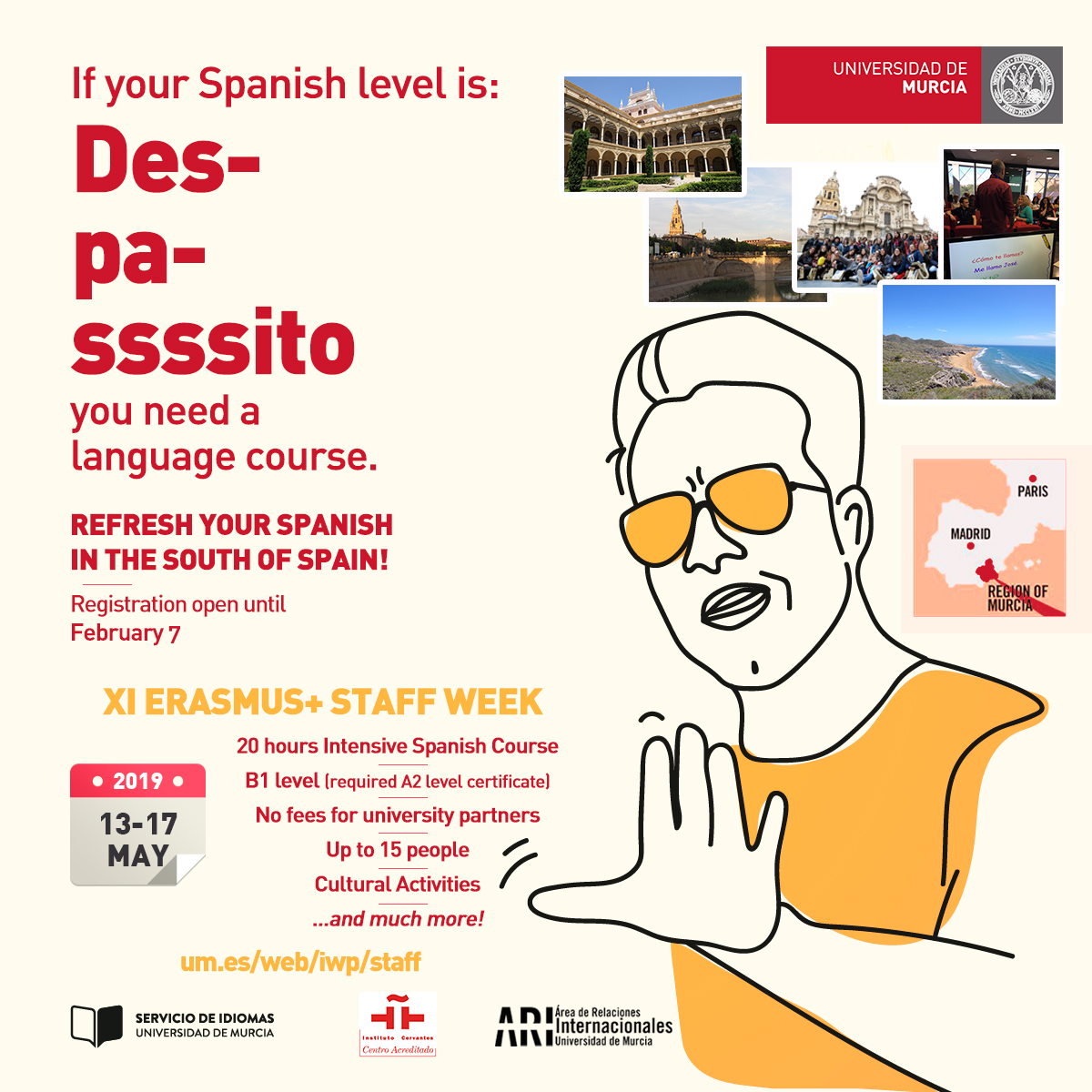 XI Erasmus+ Staff Training Week Spanish