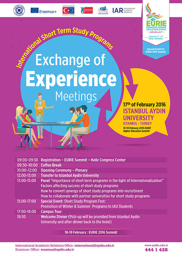 International Short Term Study Programs: Exchange of Experience